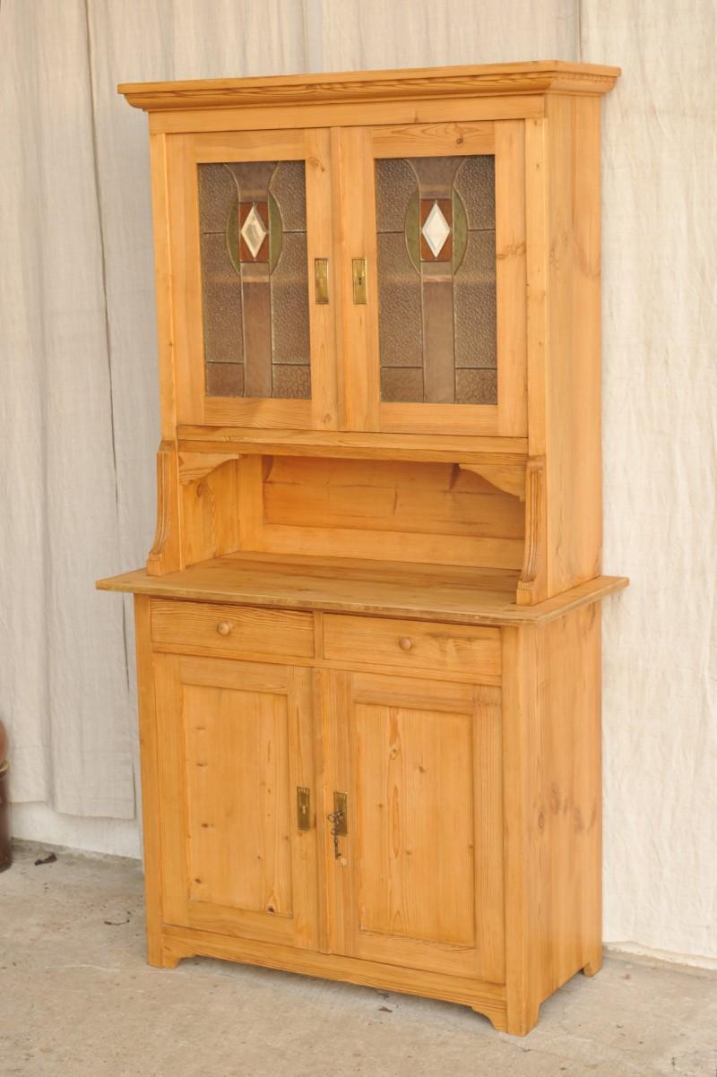 jugendstil k chenschrank landhaus antik im hof. Black Bedroom Furniture Sets. Home Design Ideas