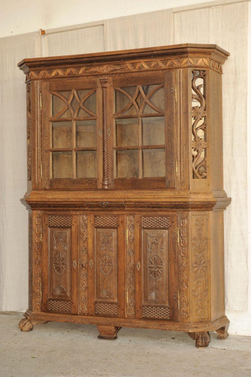 barock anrichte mit aufsatz 1143 20. Black Bedroom Furniture Sets. Home Design Ideas