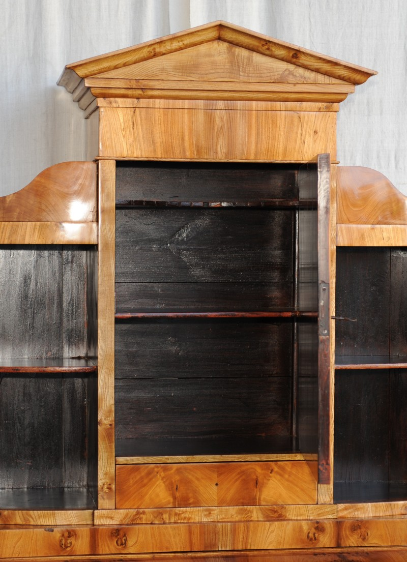 biedermeier sekret r mit aufsatz antik im hof. Black Bedroom Furniture Sets. Home Design Ideas