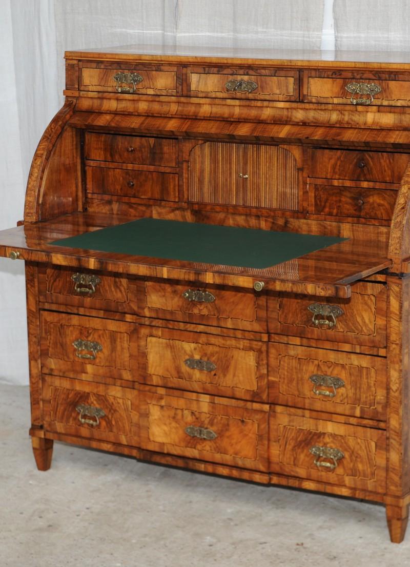 louis seize zylinderbureau um 1770 antik im hof. Black Bedroom Furniture Sets. Home Design Ideas