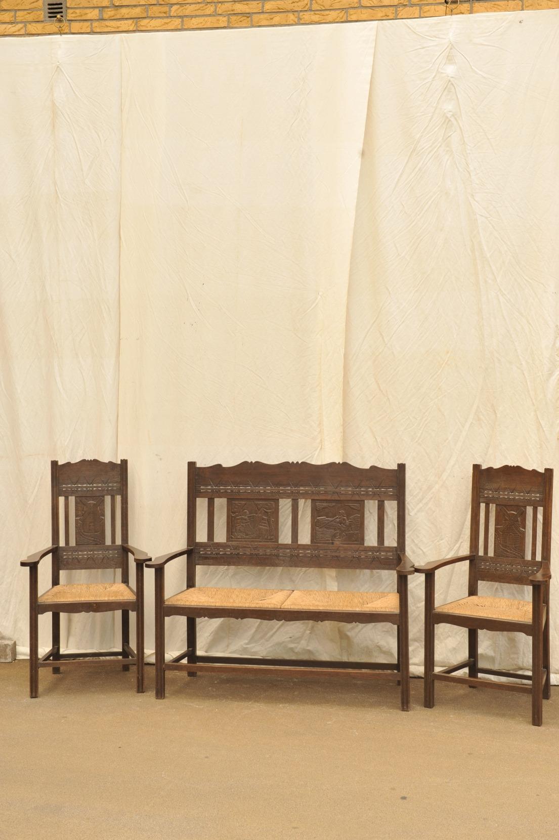worpsweder sitzgruppe antik im hof. Black Bedroom Furniture Sets. Home Design Ideas