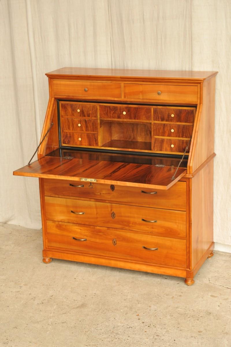 biedermeier sekret r kirsche antik im hof. Black Bedroom Furniture Sets. Home Design Ideas