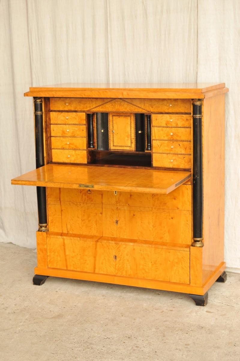 empire sekret r birke antik im hof. Black Bedroom Furniture Sets. Home Design Ideas