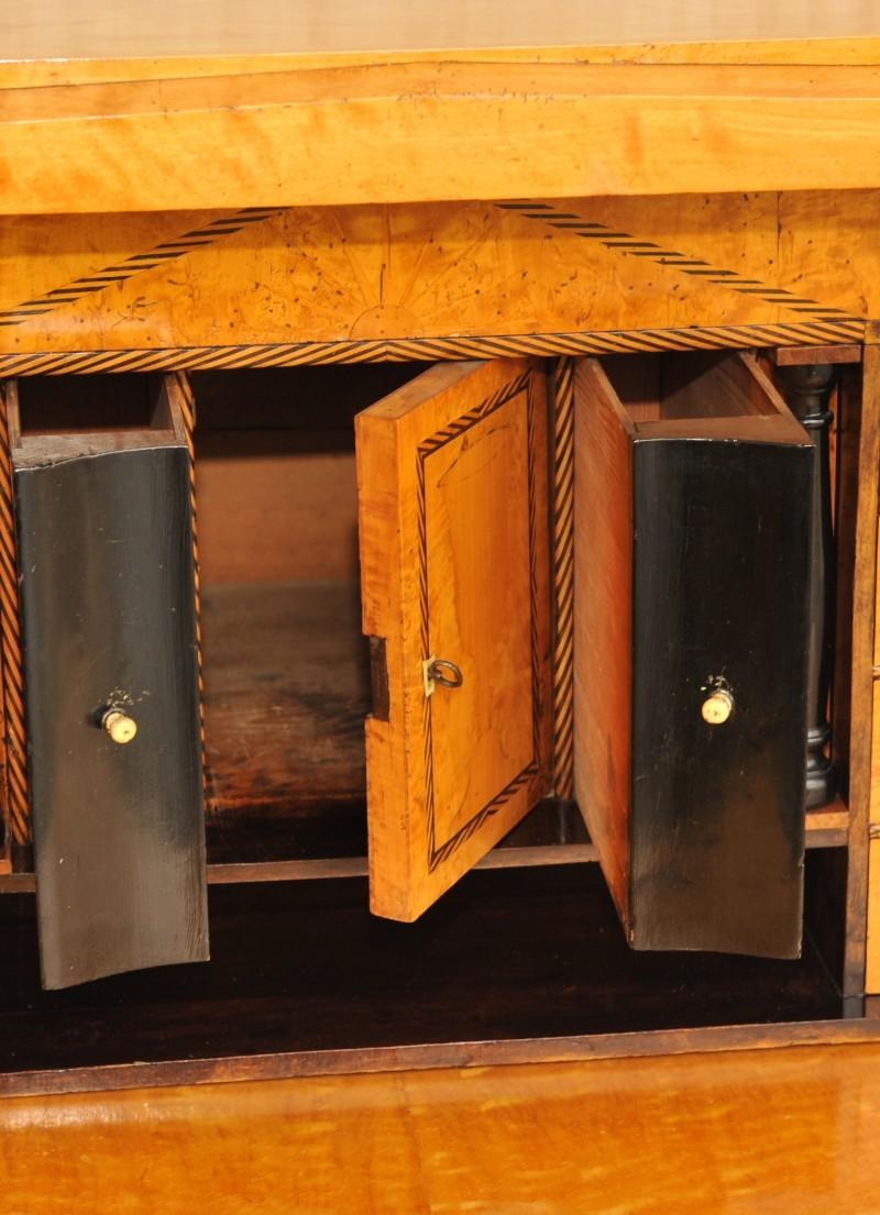 empire sekret r birke antik im hof sekret r biedermeier sekret r empire. Black Bedroom Furniture Sets. Home Design Ideas