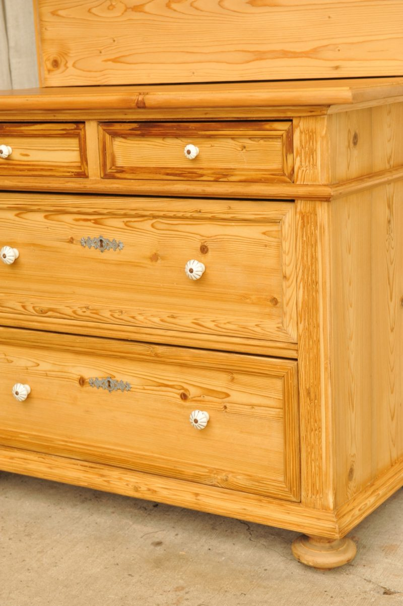 jugendstil kommode mit spiegel antik im hof. Black Bedroom Furniture Sets. Home Design Ideas