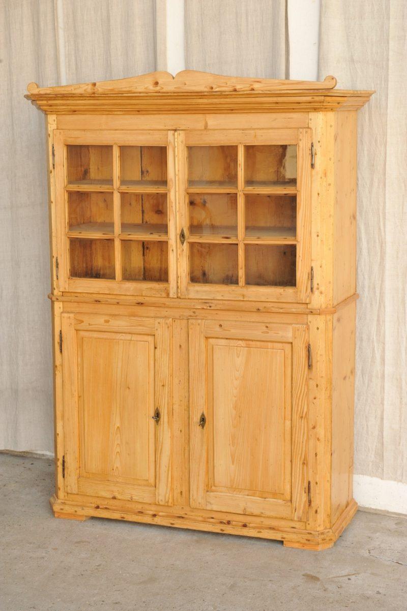 biedermeier anrichte mit aufsatz antik im hof. Black Bedroom Furniture Sets. Home Design Ideas