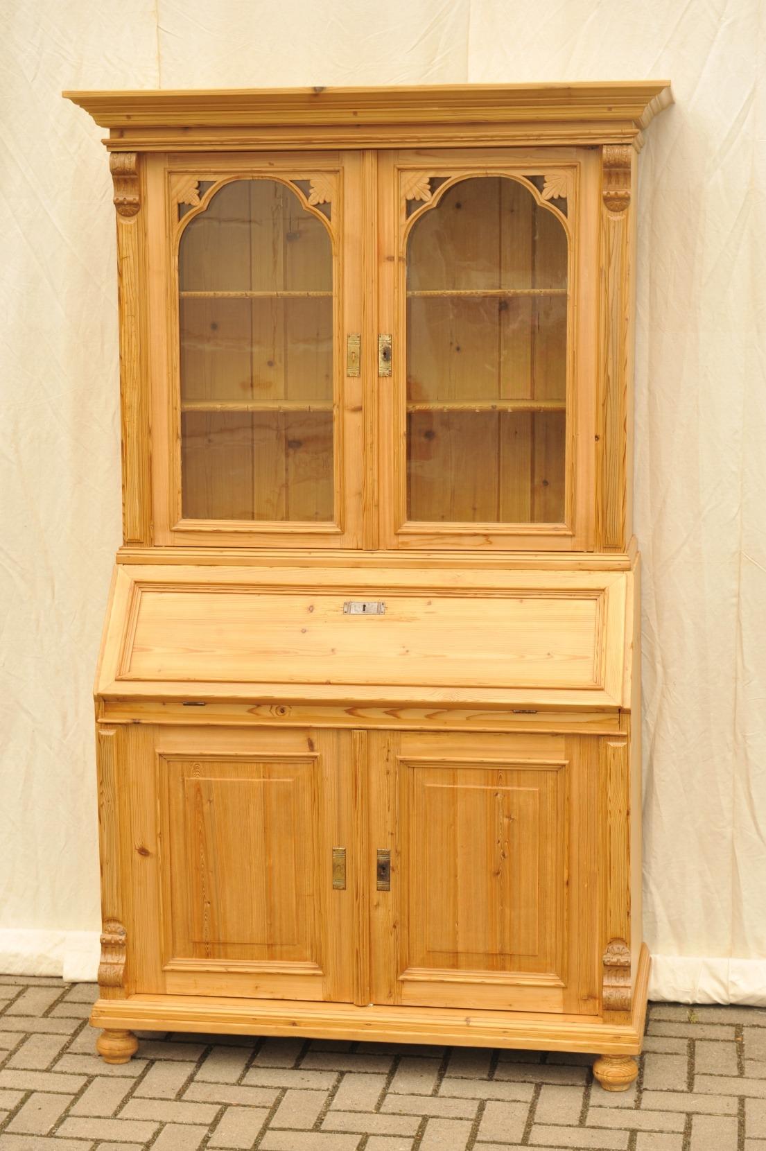 gr nderzeit sekret r mit aufsatz antik im hof 1a. Black Bedroom Furniture Sets. Home Design Ideas