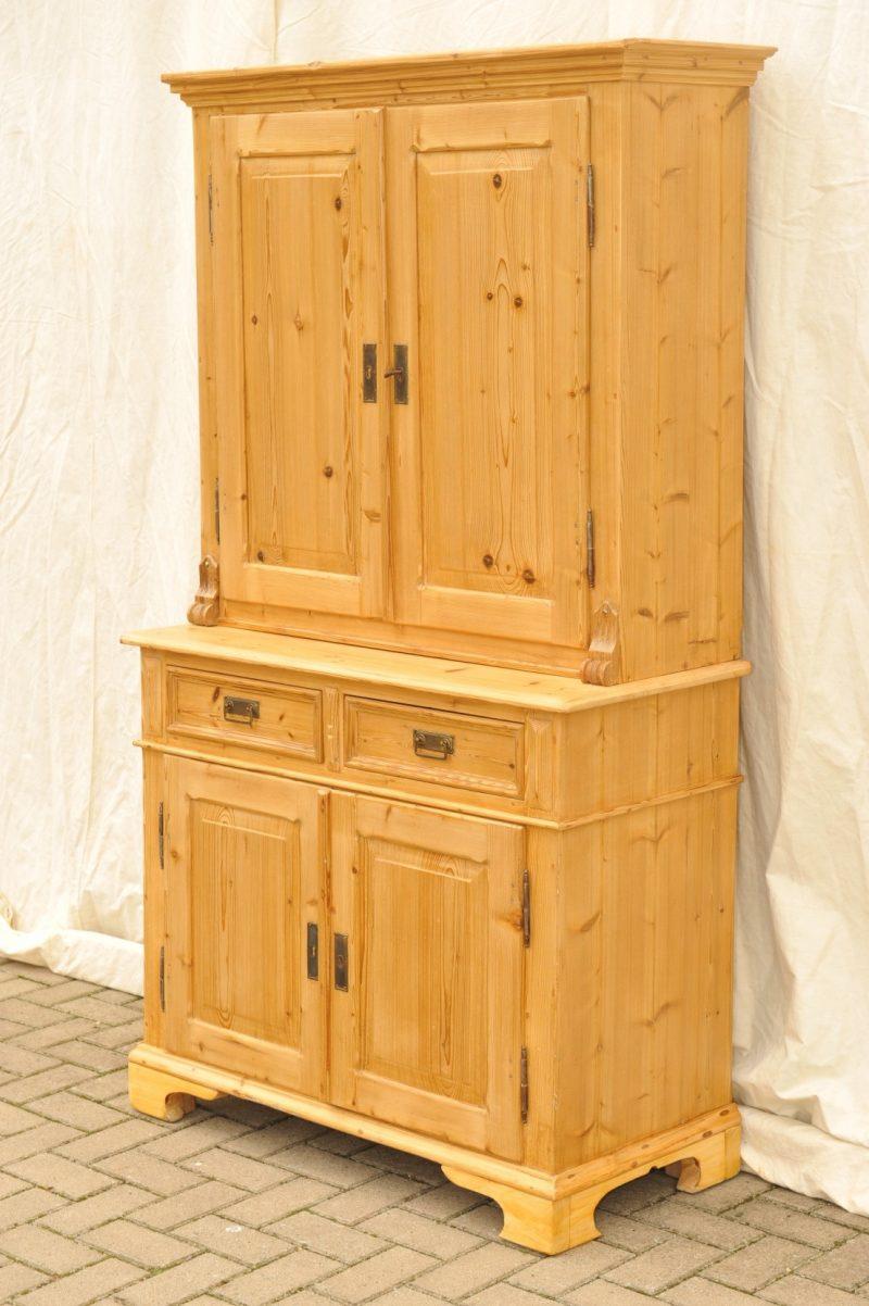 kleiner k chenschrank wirtschaftsschrank antik antik im hof. Black Bedroom Furniture Sets. Home Design Ideas