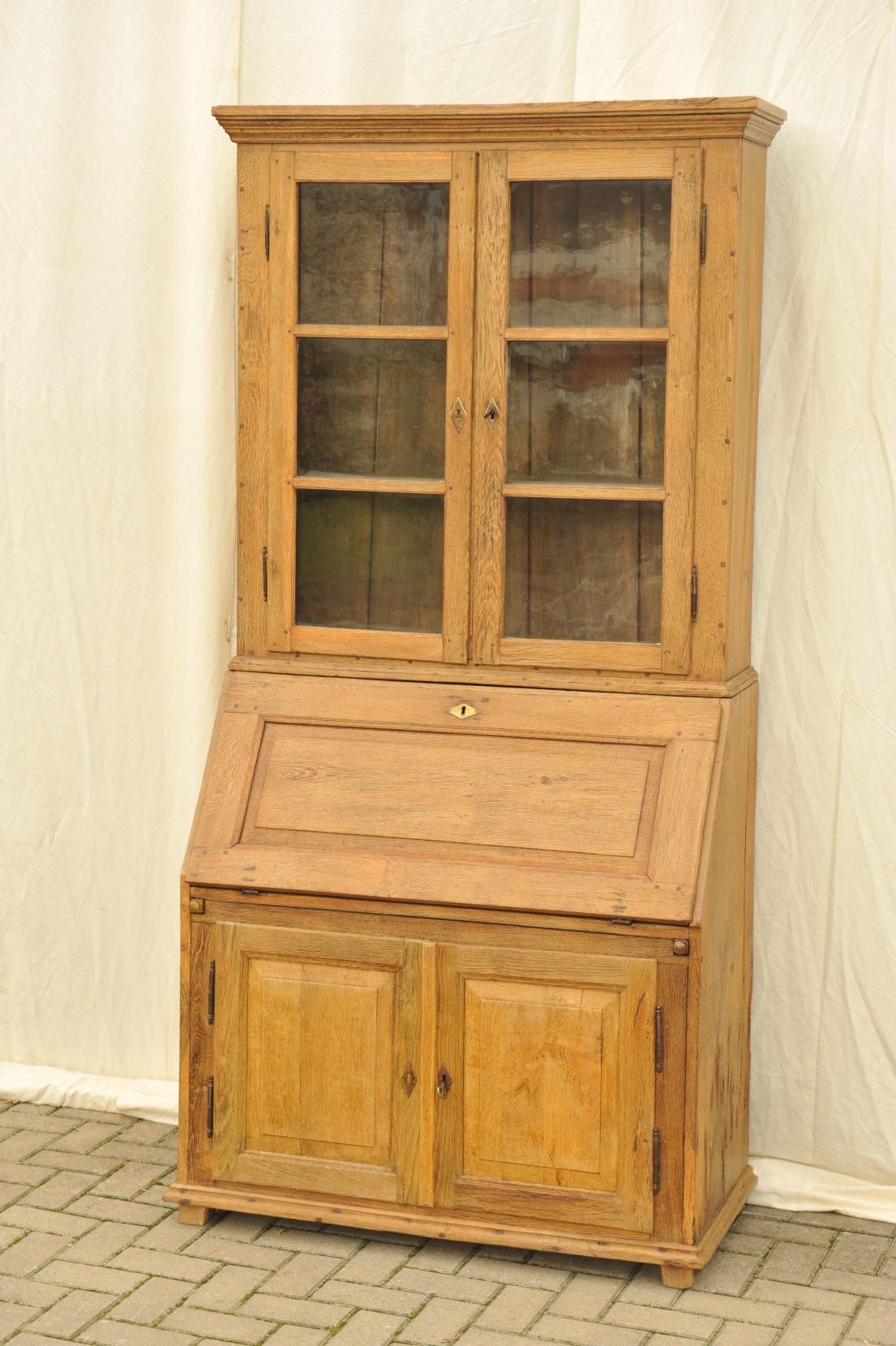 sekret r mit aufsatz eiche biedermeier antik im hof aufsatzsekret r eiche sekret r eiche. Black Bedroom Furniture Sets. Home Design Ideas