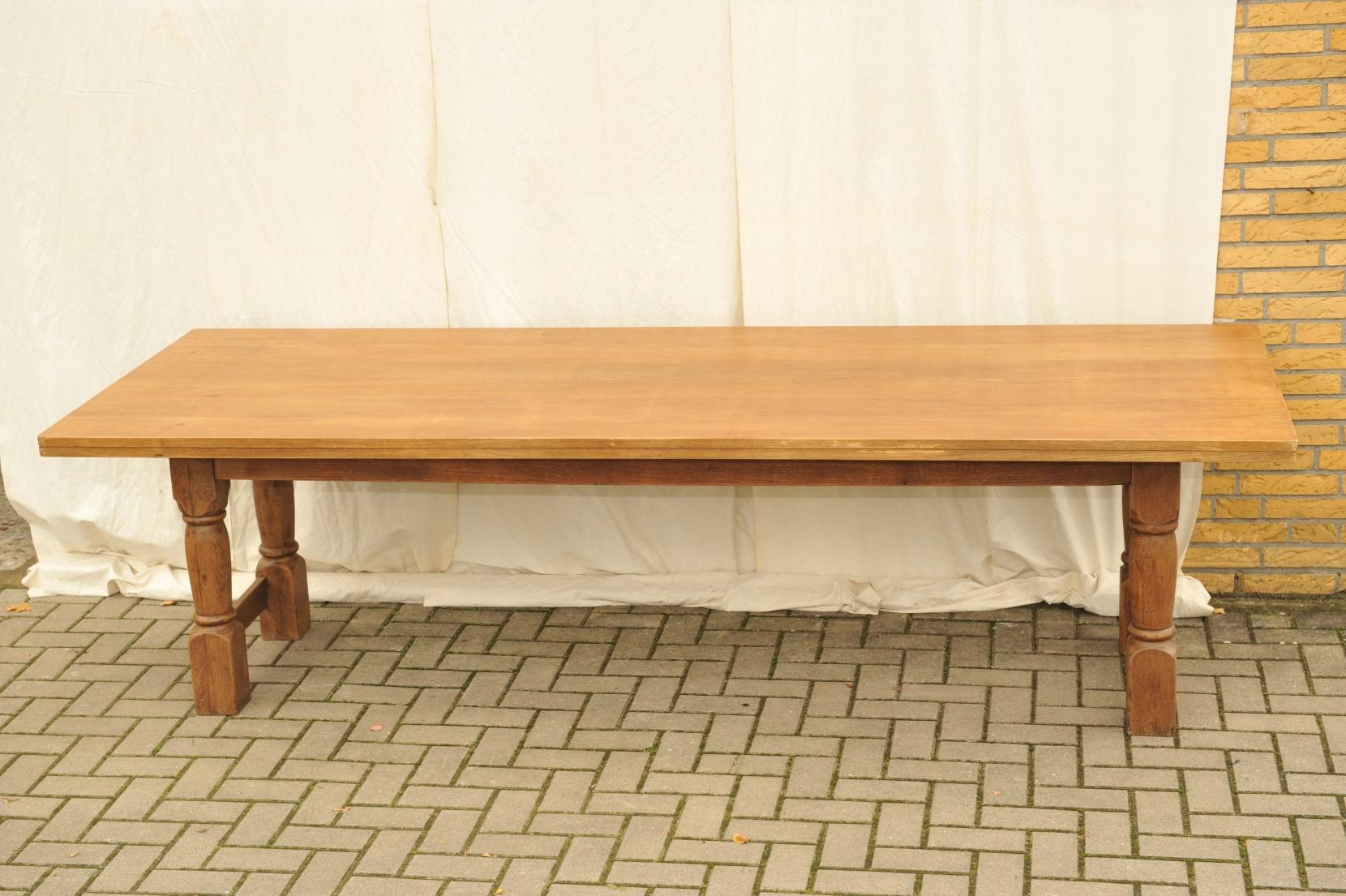tisch eiche eiche tisch eiche massiv indoorm bel landi tisch eiche ludwig g nstig bei nhoma. Black Bedroom Furniture Sets. Home Design Ideas