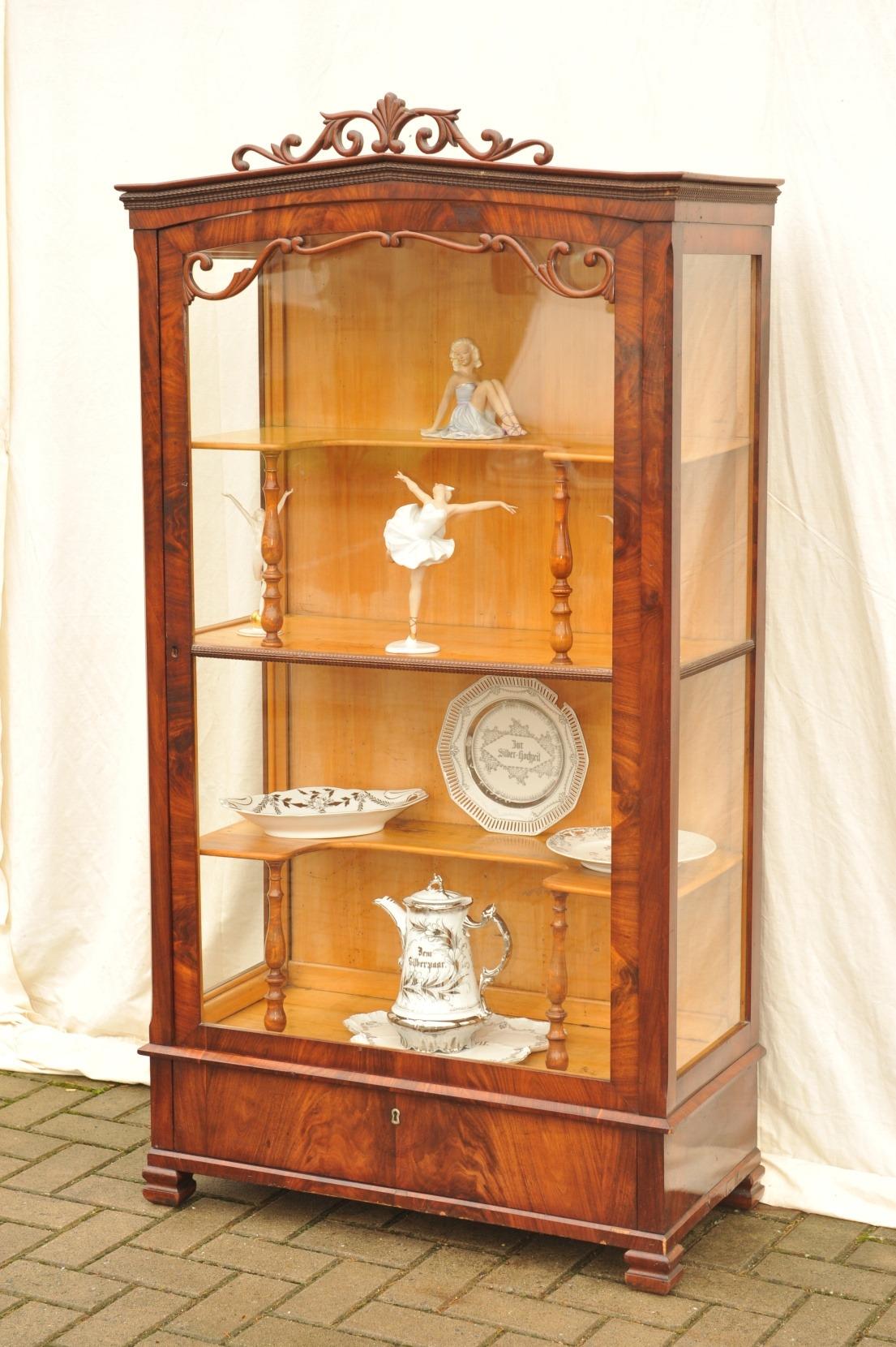 biedermeier vitrine antik 2701 1
