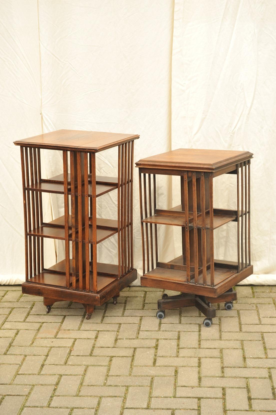 "Antike kleinmöbel weichholz  Antike ""Revolving Bookcases""   Antik im Hof"