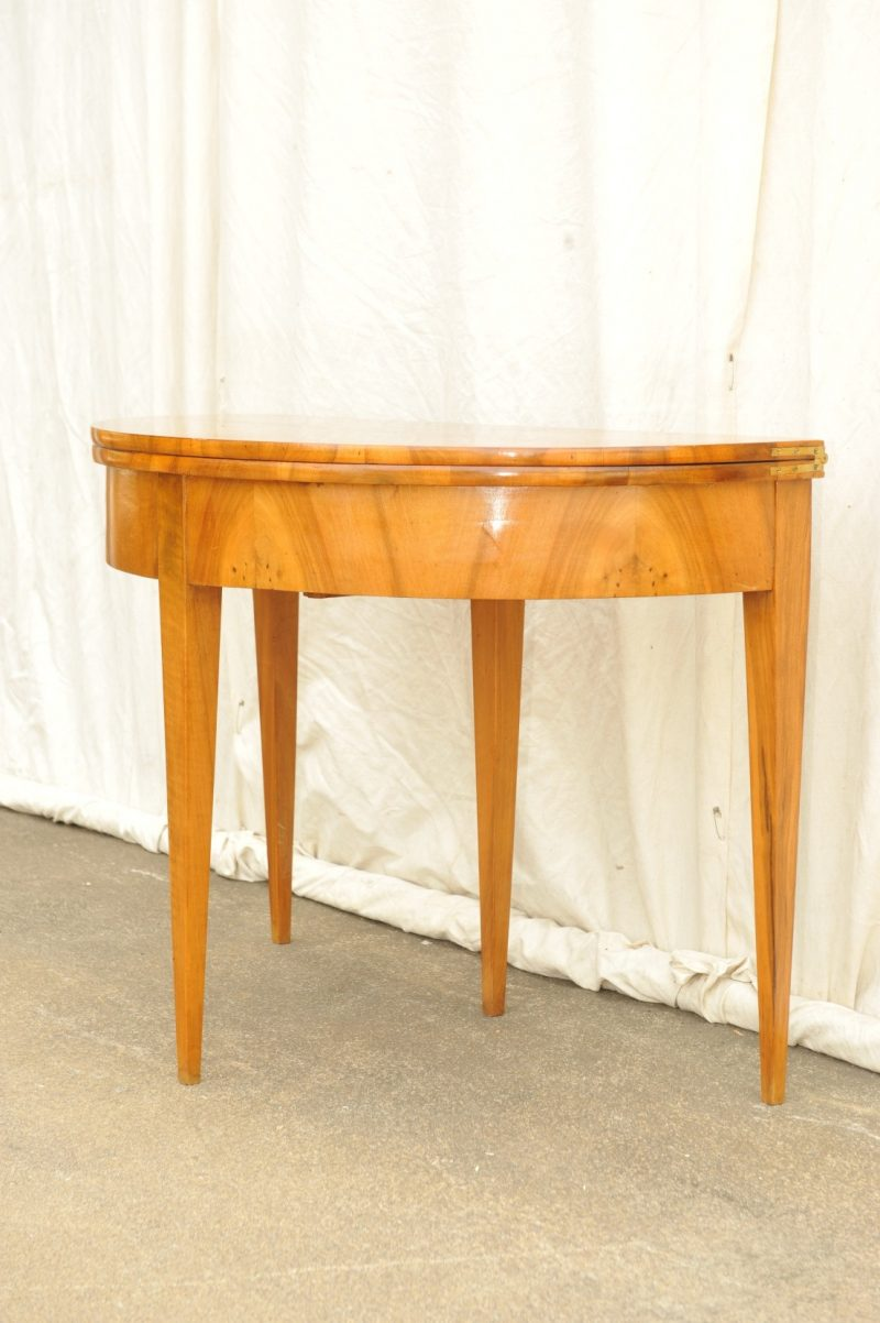 Halbmond Tisch Biedermeier Spieltisch