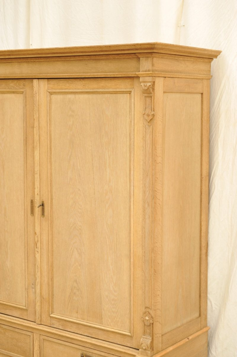 antiker Kleiderschrank Eiche