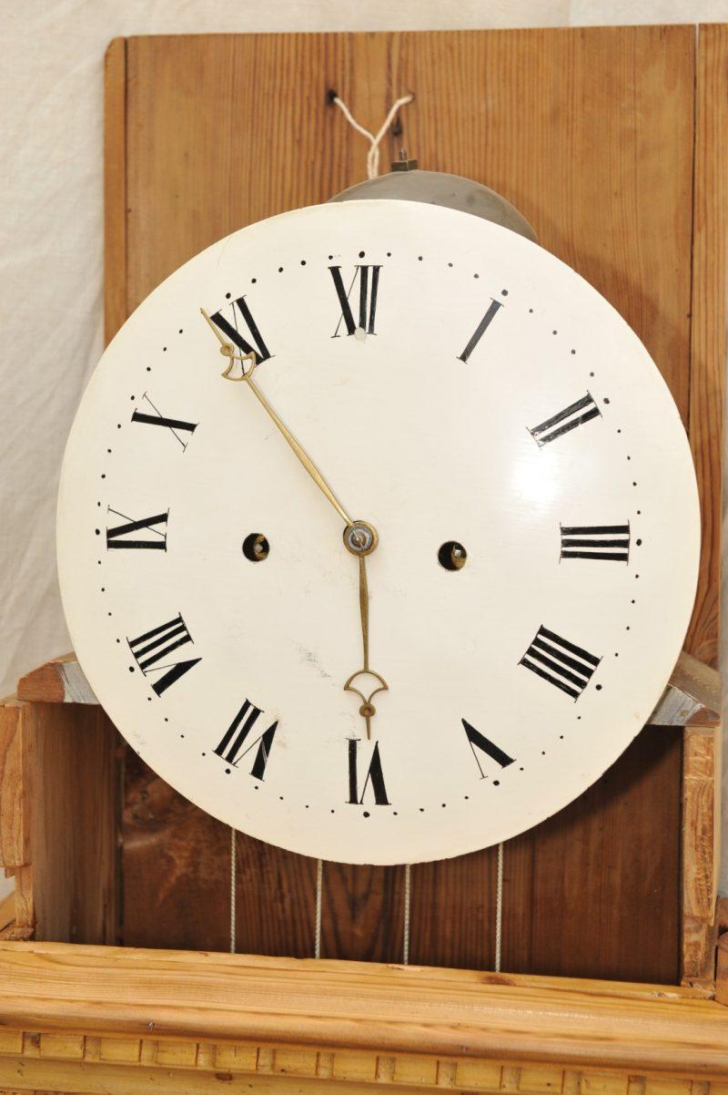 Bodenstanduhr Weichholz Louis Seize Uhrwerk