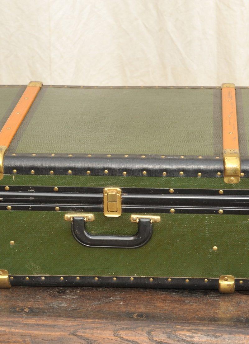Reisekoffer, Überseekoffer antik