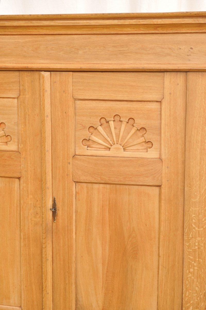 Tür zerlegbarer Schrank Eiche antik