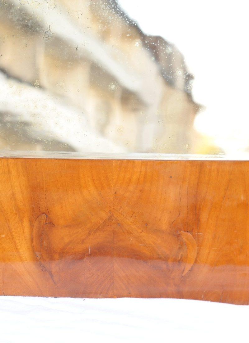 Detail Biedermeier Spiegel Kirsche