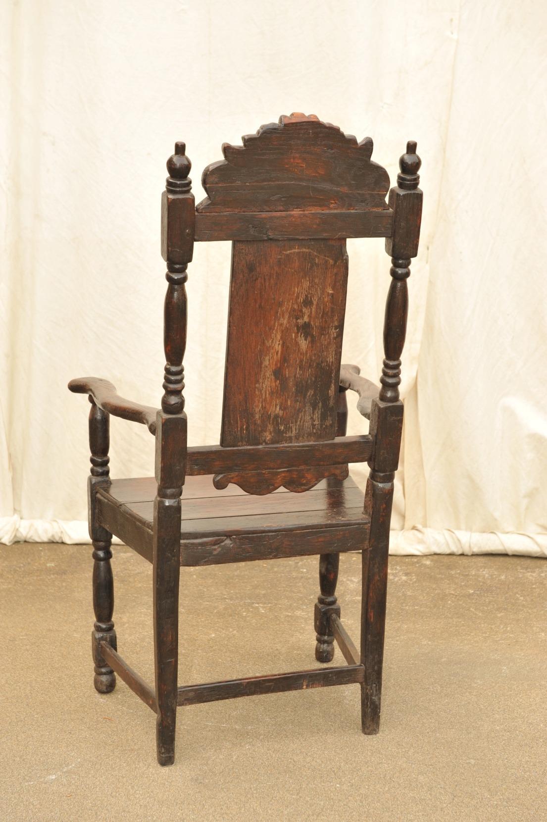 Detail Paar Stühle Frühbarock