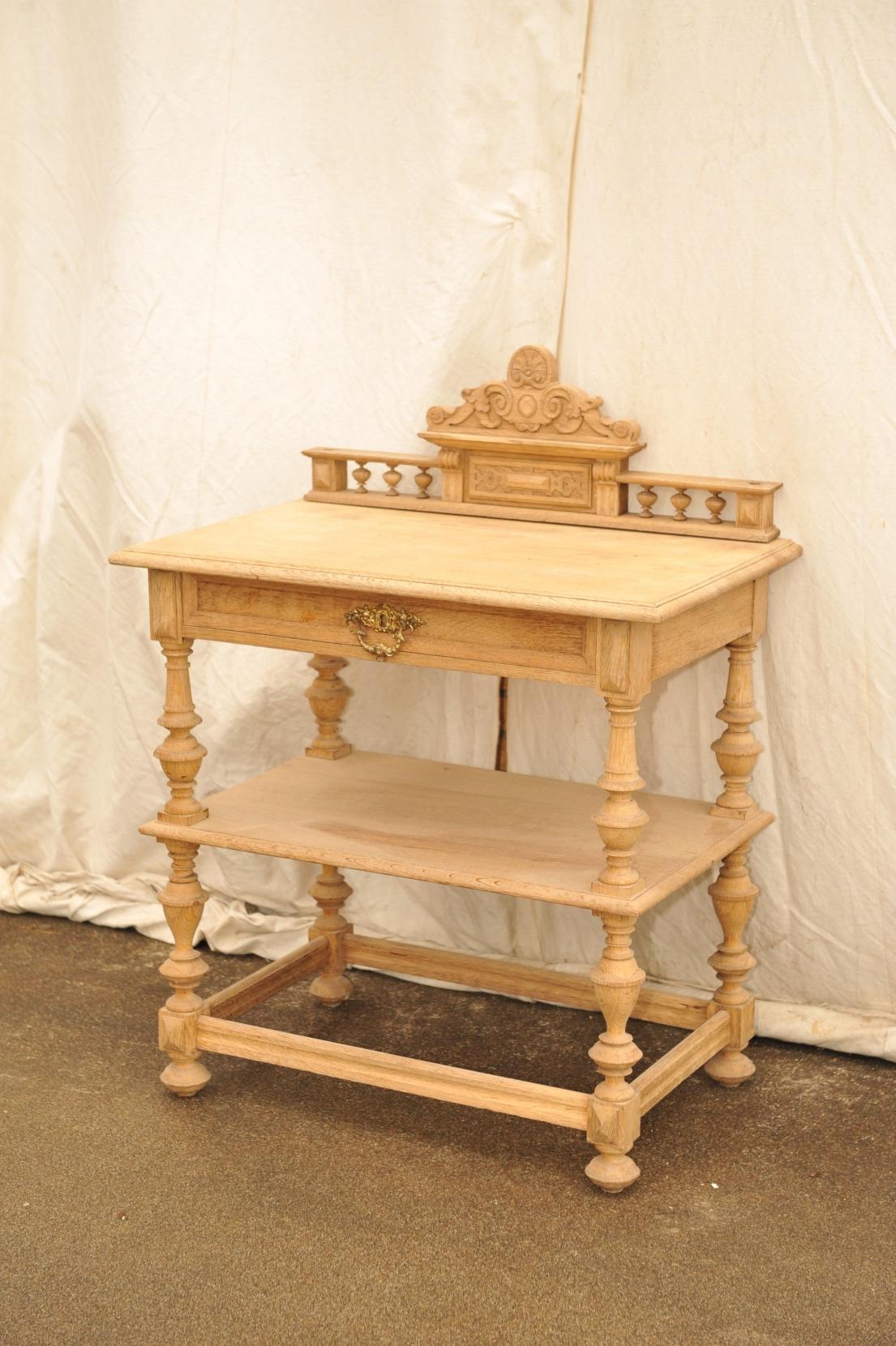 Tisch Etagere Gründerzeit Eiche
